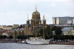 Военно-морской парад в Санкт-Петербурге в 2016 году. Часть 1