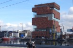 Башня MAS в Антверпене – не только музей, но и необычное архитектурное решение
