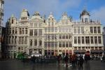 Брюссель: утренняя Гран Пляс и церковь Марии Магдалины
