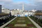 Брюссель: Холм искусств, неординарная королевская чета и вращающееся ухо